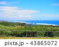 沖縄 バンタ岬 海の写真 43865072