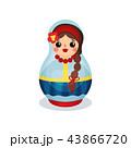 ロシア風 ロシア人 ロシア語のイラスト 43866720