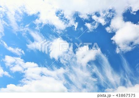 北海道 夏の青空 43867575