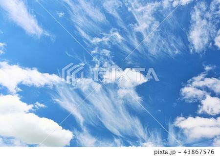 北海道 夏の青空 43867576