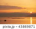 日の出 瀬戸内海 地御前の写真 43869871