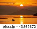 日の出 瀬戸内海 地御前の写真 43869872