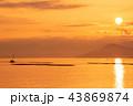 日の出 瀬戸内海 地御前の写真 43869874