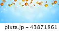 あき 秋 背景のイラスト 43871861