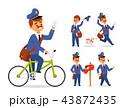 キャラクター 文字 字のイラスト 43872435