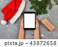タブレット プレゼント 贈り物の写真 43872658