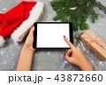 タブレット プレゼント 贈り物の写真 43872660
