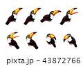 ベクトル マンガ 動物のイラスト 43872766