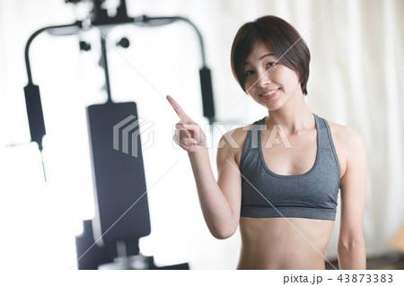 トレーニング・女性 43873383