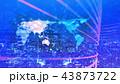 グローバル 夜景 都会のイラスト 43873722