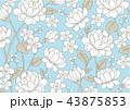 花 バラ 薔薇のイラスト 43875853