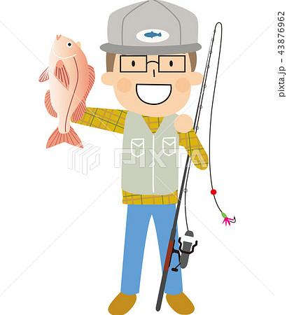 釣り 鯛 男性 43876962