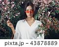ファッション 流行 アジア人の写真 43878889