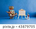 ロボット イーゼル パレットの写真 43879705