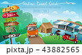 Outdoor Camping Travel Banner 43882565