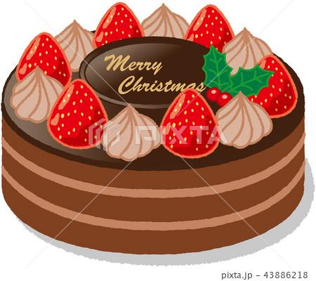 クリスマスケーキ 43886218