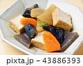 野菜 野菜煮物 煮物の写真 43886393