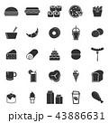 コンピューターアイコン ベクトル 食のイラスト 43886631