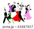 社交ダンス 群像 43887857