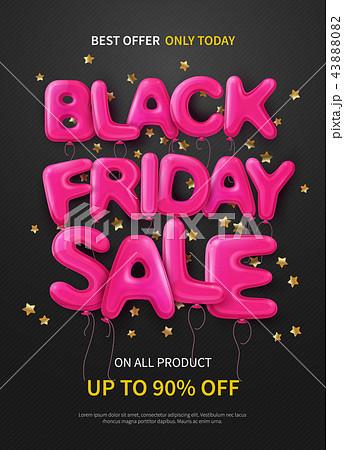 Black Friday Flat Poster  43888082