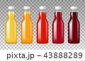 ジュース ガラス ガラス製のイラスト 43888289
