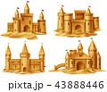 城 城郭 お城のイラスト 43888446