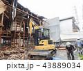 木造アパートの解体工事 43889034