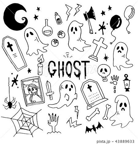 Ghost Illustration Packのイラスト素材