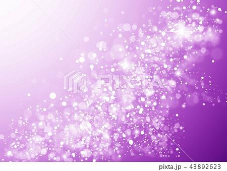 紫色キラキラ光り 43892623