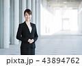ビジネスマン ビジネスウーマン 会社員の写真 43894762