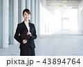 ビジネスマン ビジネスウーマン 会社員の写真 43894764