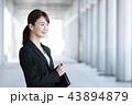 女性 ビジネスマン ビジネスウーマンの写真 43894879