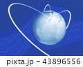 地球 グローバル ネットワークのイラスト 43896556