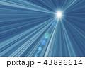 光 光線 放射状のイラスト 43896614
