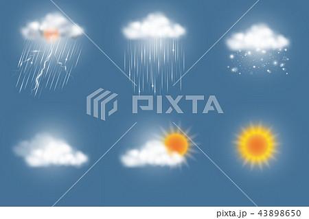 weather icons set 43898650