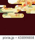 背景 紅葉 秋のイラスト 43899808