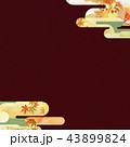 背景 紅葉 秋のイラスト 43899824