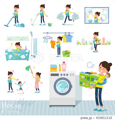 flat type Mother and baby_housekeeping 43901310