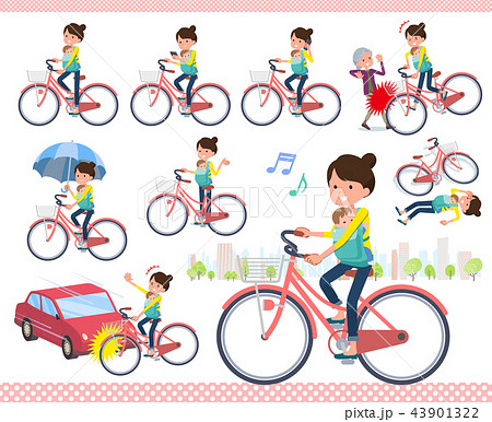 flat type Mother and baby_city cycle 43901322