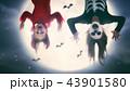 ハロウィン ハロウィーン スマイルの写真 43901580