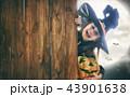 ハロウィン 子 子供の写真 43901638