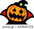 ハロウィン かぼちゃおばけ マント 43904729