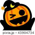 ハロウィン かぼちゃおばけ 43904734