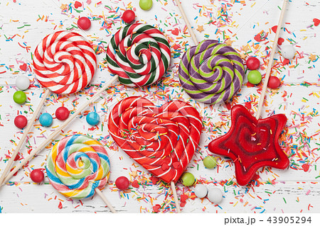Colorful sweets 43905294