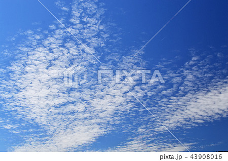 自然風景 秋の雲 43908016