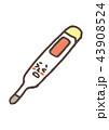 体温計(文字なし・発熱) 43908524