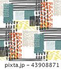 柄 メンフィス パターンのイラスト 43908871
