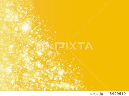 金色キラキラ光り 43909610
