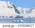 晴天の南極半島 43909627