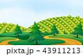 農場 自然 ベクトルのイラスト 43911213